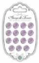 Resin Flowers - Always & Forever - The Wedding Collection - Rose Pk 15